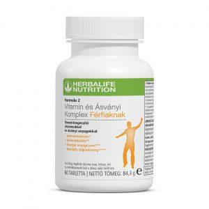Formula 2 Vitamin Komplex Férfiaknak – 60 db