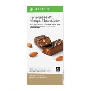 Fehérjeszelet vaníliás-mandulás – 14 db / csomag