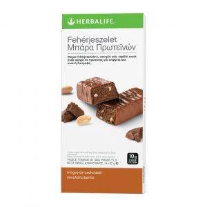 Fehérjeszelet mogyorós-csokoládés – 14 db / csomag